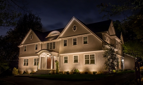 View larger photo of: NJ architectural uplighting low voltage installed