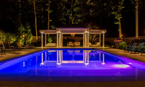 View larger photo of: Pool lighting 1