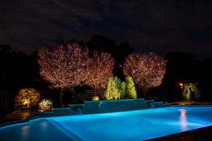 View larger photo of: Pool lighting NJ 2