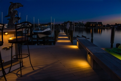 View larger photo of: Dock Lights