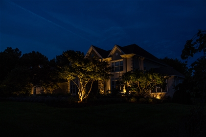 View larger photo of: Far Hills outdoor Landscape Lighting NJ