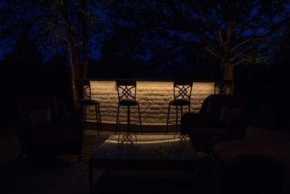 View larger photo of: Outdoor kitchen and bar lighting NJ