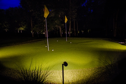 View larger photo of: Specialty chipping putting green lights nj