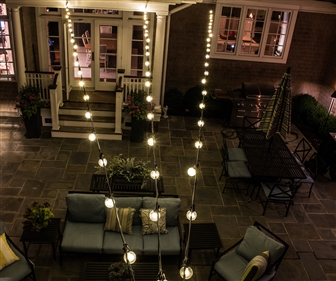 View larger photo of: Bistro Hanging Lights New Jersey