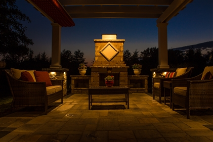 View larger photo of: Pergola lighting NJ Downlights