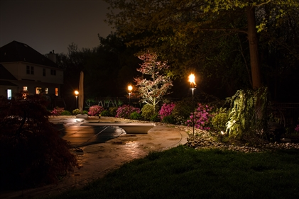 View larger photo of: Pool area lighting NJ