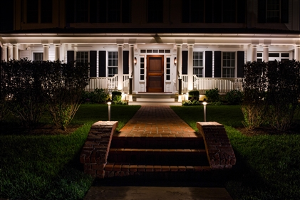 View larger photo of: Beach home outdoor lighting New Jersey