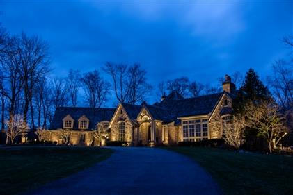 View larger photo of: Architectural lighting New Jersey outdoor lights