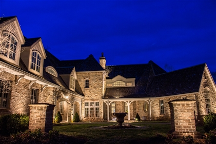View larger photo of: Outdoor landscape lighting NJ